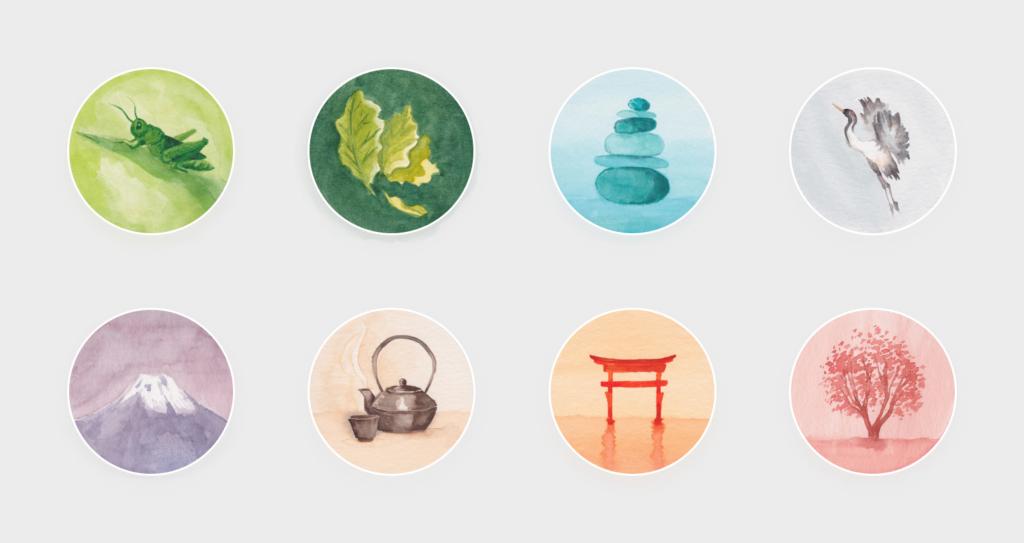 Badges for Oak's user profile